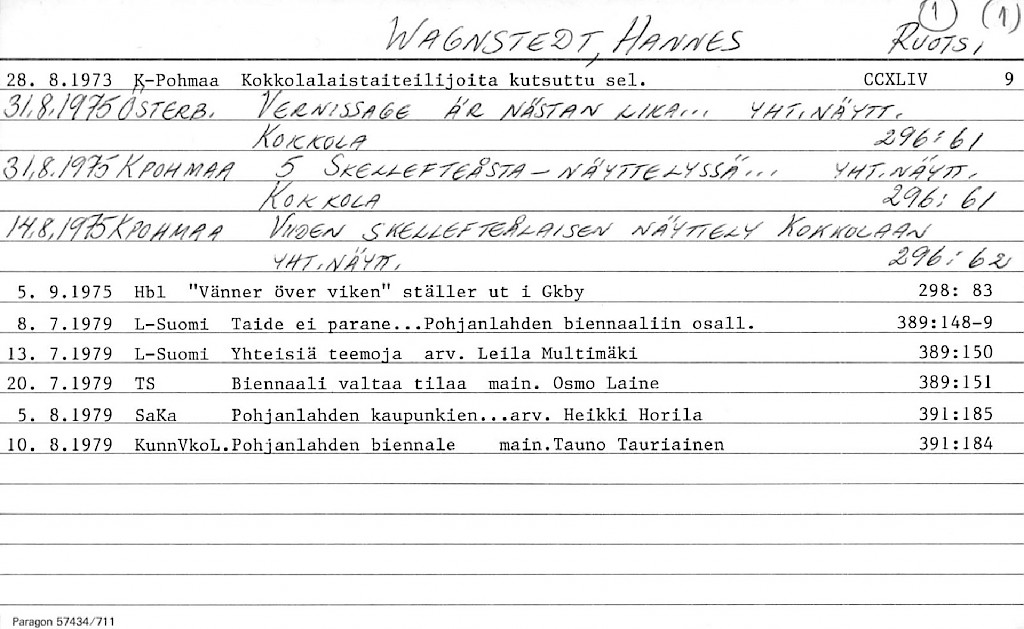 Wagnstedt, Hannes